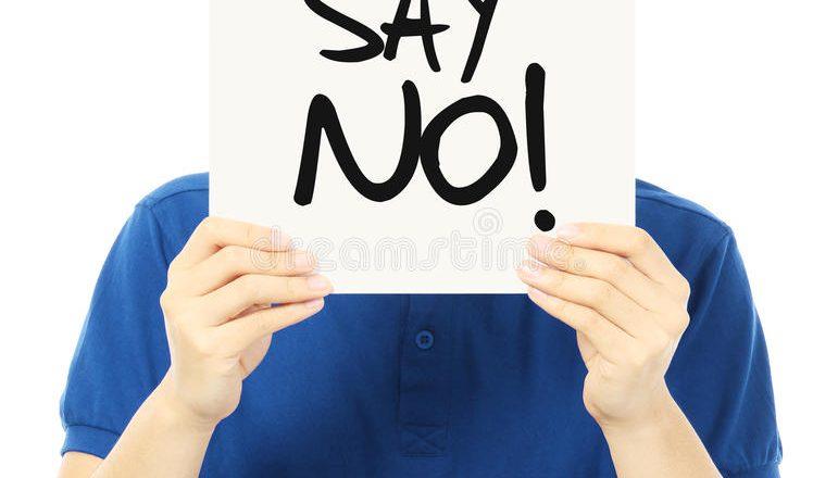 Просто скажи-НЕТ!